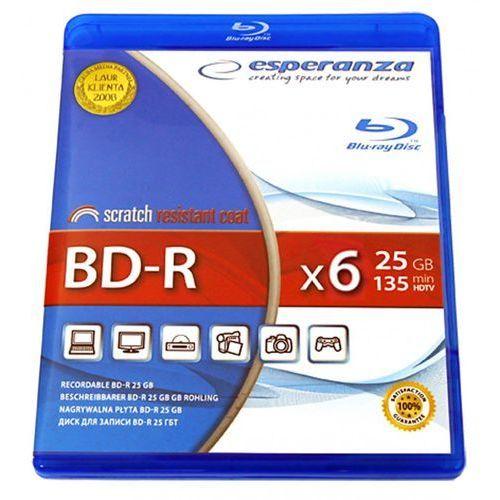 bd-r 25gb x4 - bluray box 1 szt. darmowy odbiór w 20 miastach! marki Esperanza