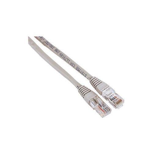 Kabel HAMA CAT5e UTP 10 m Szary (4007249306227)