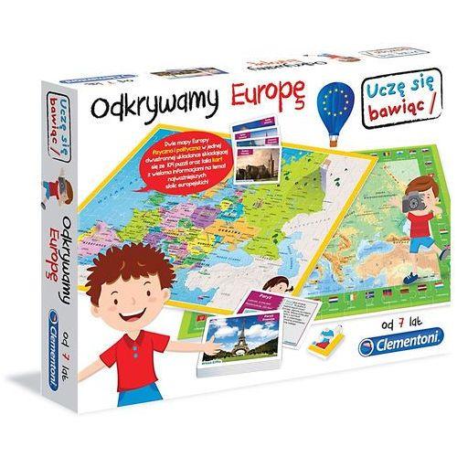 Clementoni Odkrywamy europę mapa karty   układanka - odkrywamy europę