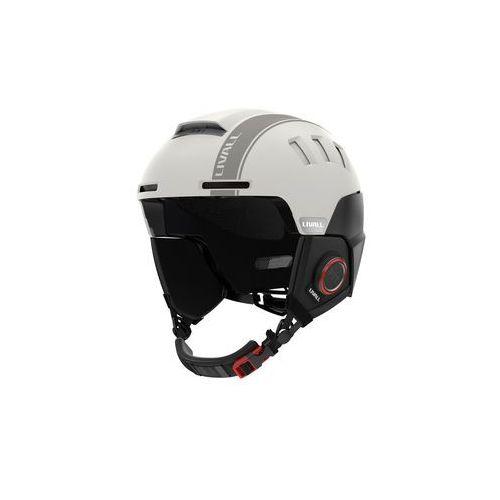 Kask narciarski rs1 smart biały marki Livall