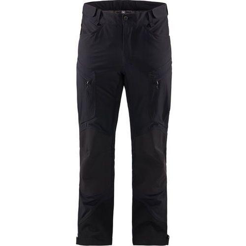 rugged mountain spodnie długie mężczyźni czarny m 2018 spodnie turystyczne marki Haglöfs