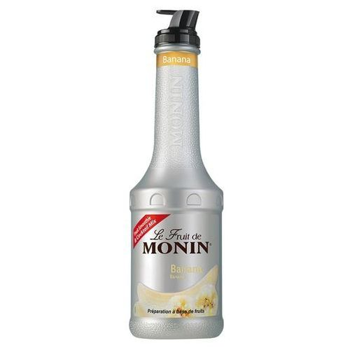 Monin Puree  banana- bananowy 1l