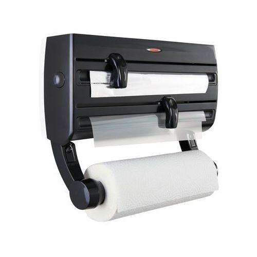 Podajnik do folii i papieru parat f2 czarny + zamów z dostawą w poniedziałek! marki Leifheit