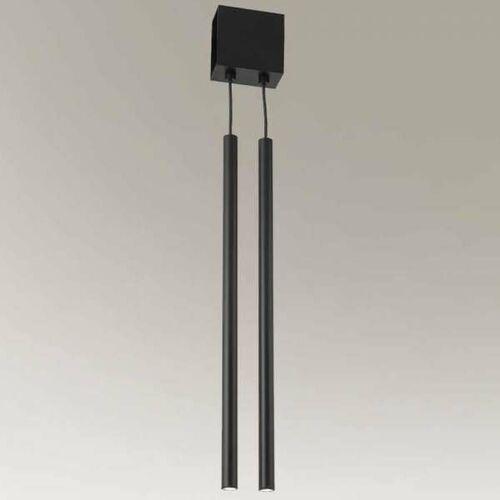 Shilo Lampa wisząca kosame 7920 industrialna oprawa metalowy zwis tuby czarne (1000000608724)