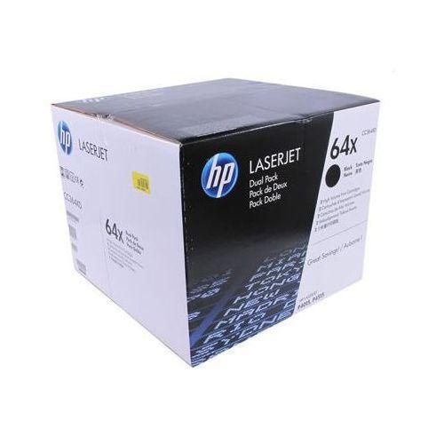 Tonery Oryginalne HP 64X (CC364XD) (Czarne) (dwupak) - DARMOWA DOSTAWA w 24h