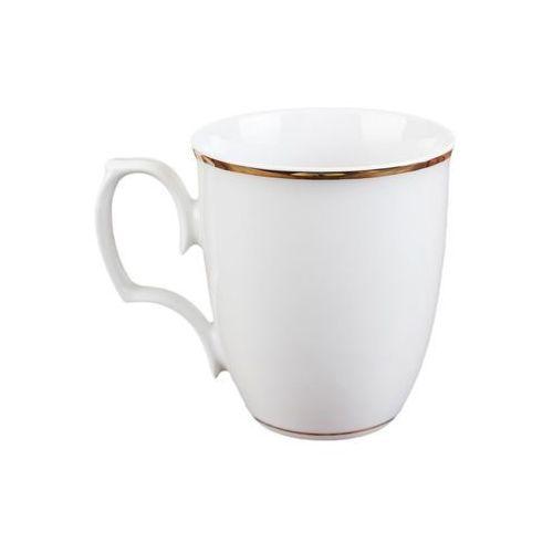 Chodzież biały kubek do herbaty kawy porcelanowy