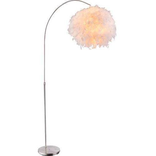 Globo Stojąca lampa podłogowa katunga 15057s kulista oprawa piórka ball białe