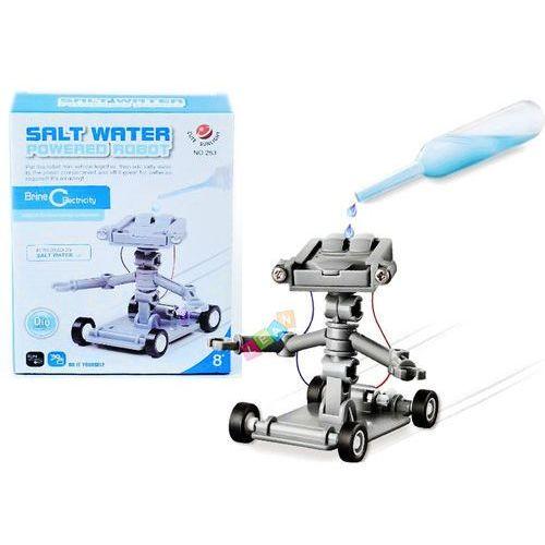 Robot zasilany słoną wodą Zestaw kreatywny - Lean Toys (1818911666234)