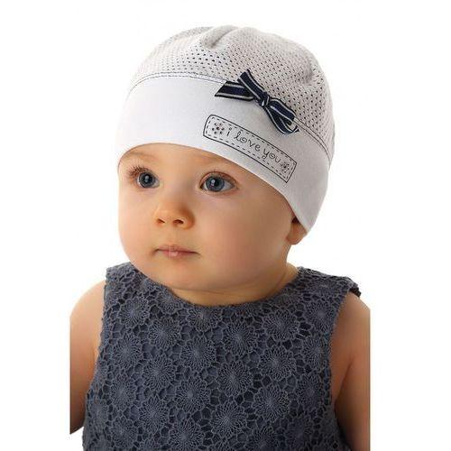 Czapka niemowlęca 100% bawełna 5X34C7
