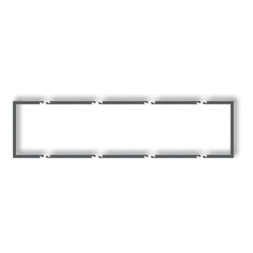 Ramka wypełniająca 4 poczwórna DRW-4, biały KARLIK DECO, DRW-4/KRL