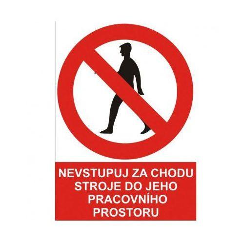 B2b partner Zakaz wejścia do pomieszczenia roboczego urządzenia w trakcie jego pracy