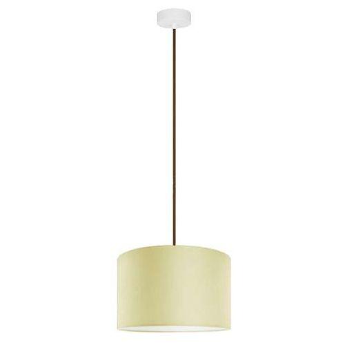 Klasyczna LAMPA wisząca MIKA M1/S/ECRU Sotto Luce abażurowa OPRAWA okrągła ecru (1000000200232)
