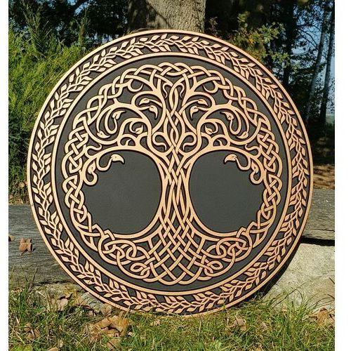 Płatnerze Celtyckie drzewo życia dekoracja na ścianę wst74