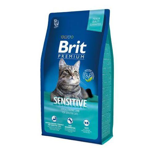 Brit  premium cat new sensitive 8kg (8595602513215)