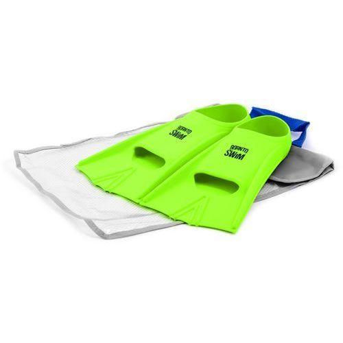 silikonowe płetwy – green 44-46 marki Born to swim