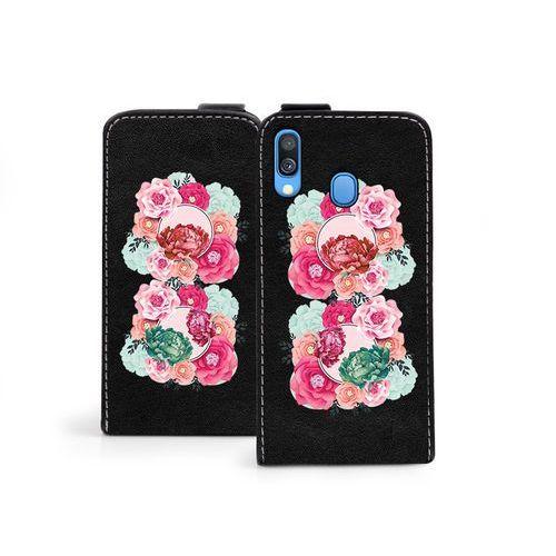 Samsung Galaxy A40 - etui na telefon Flip Fantastic- róże, kolor różowy