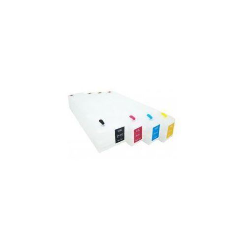 Wieczne kartridże officejet enterprise color x555dn - 4 szt. (z chipami) - komplet marki Do hp