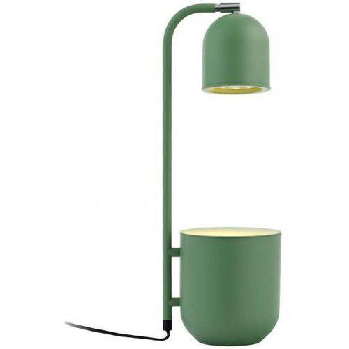 Kaspa Biurkowa lampka dekoracyjna botanica 40845113 stojąca lampa stołowa regulowana doniczka metalowa miętowa (1000000567908)