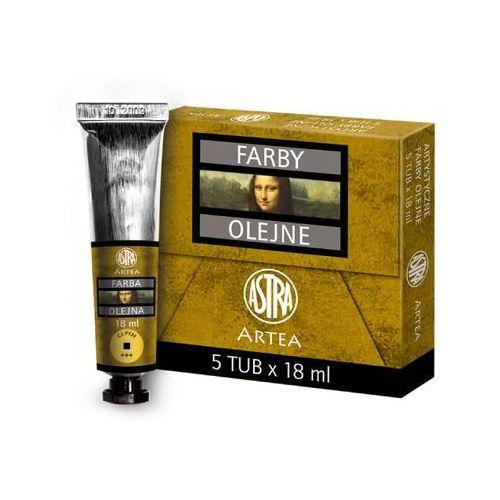 Farba olejna kadium jasny żółty 18ml 834-958 marki Astra