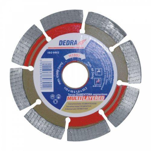 Dedra Tarcza do cięcia h1097 230 x 22.2 mm diamentowa + darmowy transport!