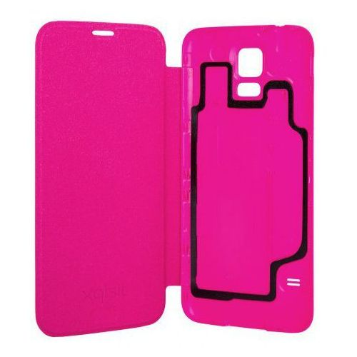 Xqisit Etui do samsung galaxy s5 battery door case różowy (4029948015491)