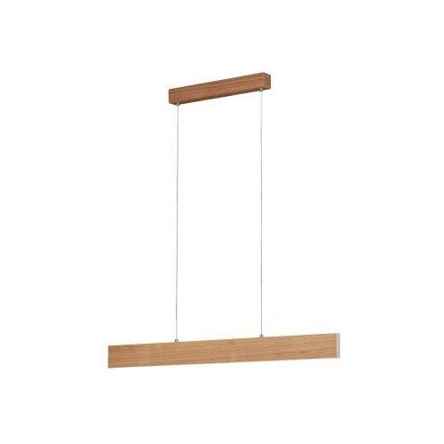 Eglo climene 39346 lampa wisząca zwis oprawa 1x17w + 1x4,2w led jasne drewno (9002769393462)
