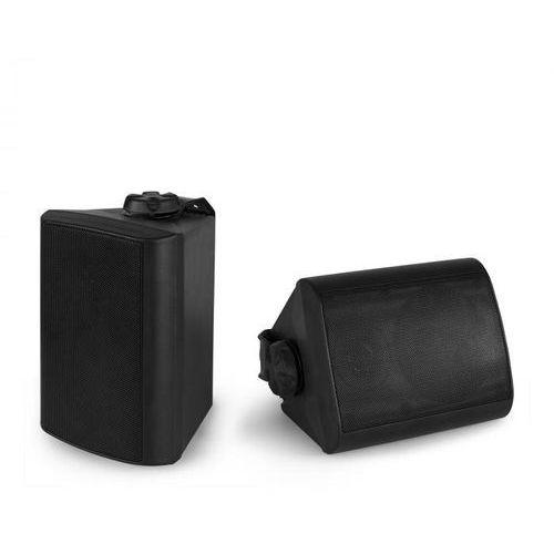 Power dynamics bgo40 zestaw kolumn głośnikowych 100 w 4-calowy głośnik niskotonowy 3/4-calowy głośnik wysokotonowy, czarny