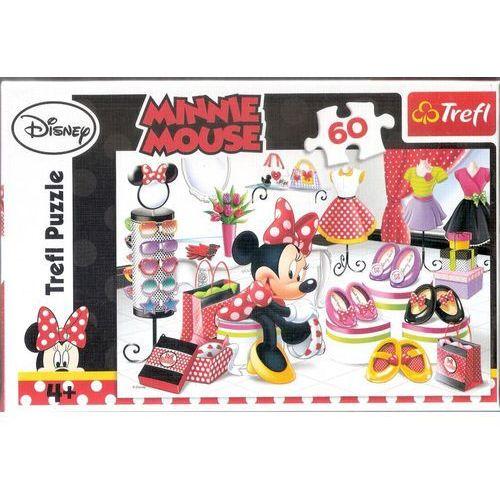 Trefl Disney Puzzle 60 Myszka Minnie Zakupowe szaleństwa Minnie