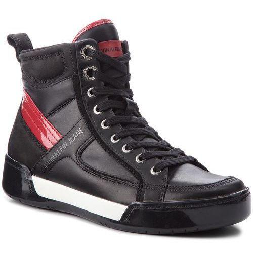 Sneakersy CALVIN KLEIN JEANS - Nicola S1774 Black/Black/Scarlet