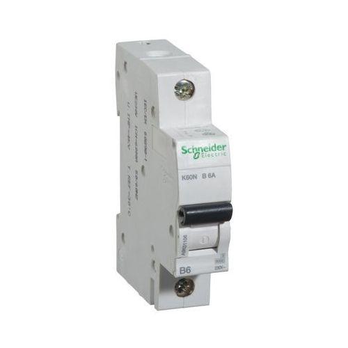 Wyłącznik nadprądowy B6 A 1-fazowy K60N Schneider Electric (3606480478123)