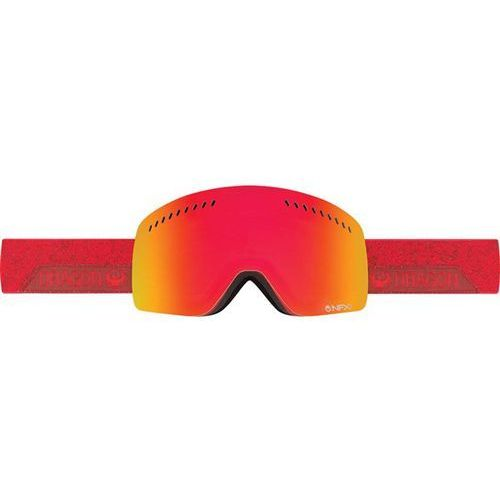 gogle snowboardowe DRAGON - NFXs - Stone Red/Red Ion + Amber (450) rozmiar: OS