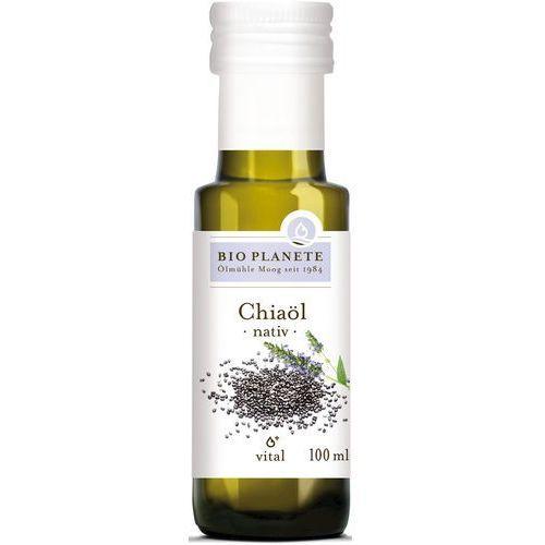Olej z nasion chia virgin bio 100 ml - bio planete marki Bio planete (oleje i oliwy)
