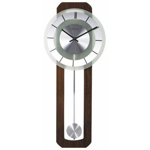 Zegar Ścienny 3190 Retro Pendulum 32x80 cm Nextime, kolor szary