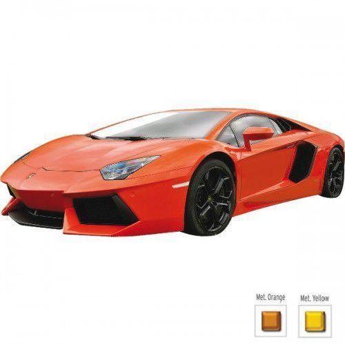 Welly Lamborghini Aventador LP700 pomarańczowy (4891761240332)