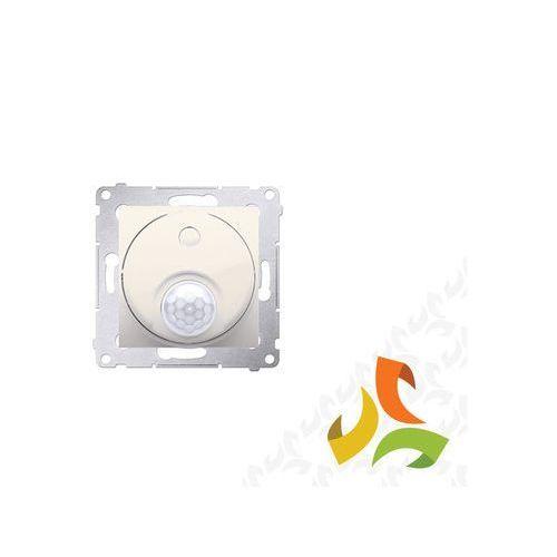 Wyłącznik z czujnikiem ruchu z przekaźnikiem kremowy DCR10P.01/41 SIMON 54 PREMIUM