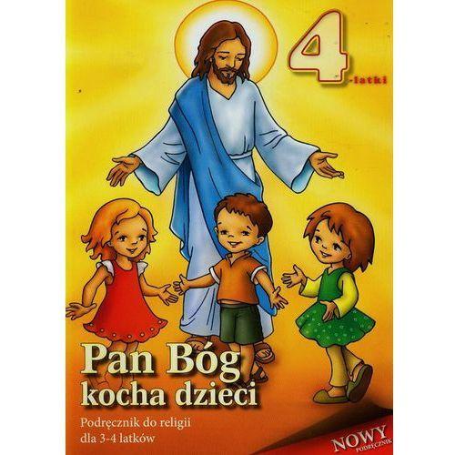 Pan Bóg kocha dzieci-podręcznik dla 3-4-latków