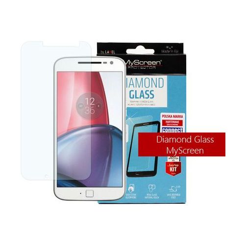 Lenovo Moto G4 - szkło hartowane MyScreen Protector Diamond Glass, FOLN363DIGL000000