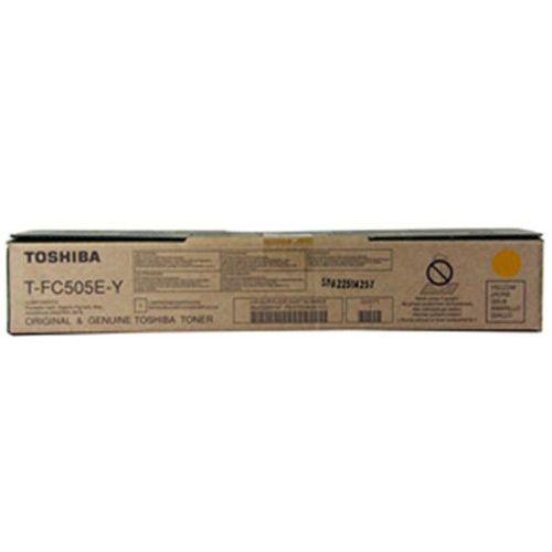Toshiba Toner t-fc505e-y yellow do kopiarek (oryginalny) [33.6k] (4519232170819)