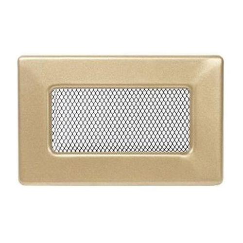 kratka kominkowa prostokątna złoto galwaniczne 110x170 mm marki Kratki