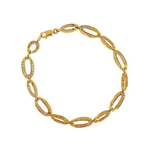 Bransoletka złota, kolor żółty