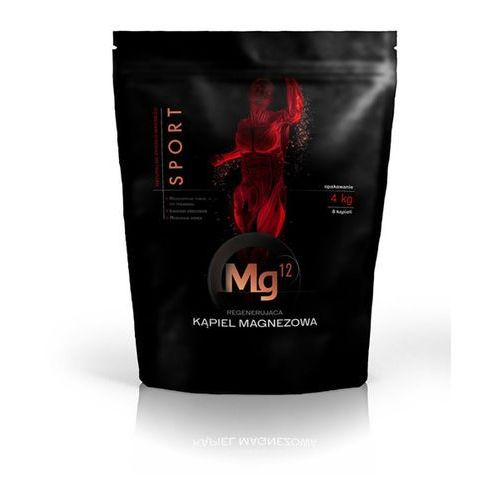 płatki magnezowe do kąpieli - 4 kg marki Mg12