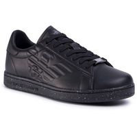 Sneakersy EA7 EMPORIO ARMANI - X8X001 XK150 M505 Triple Black/Speckle, w 4 rozmiarach