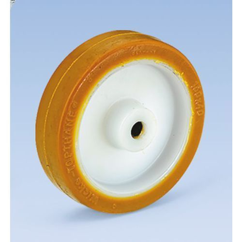 Wicke Opona poliuretanowa na feldze poliamidowej, łożysko rolkowe, Ø x szer. kółka 150