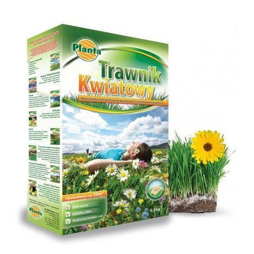 Mieszanka gazonowa trawnik kwiatowy 500g  marki Planta