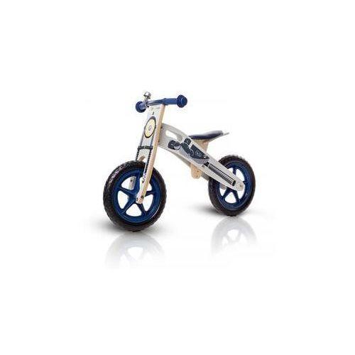 """Kinderkraft Jeździk / rowerek biegowy runner motorcycle 12"""" niebieskie"""