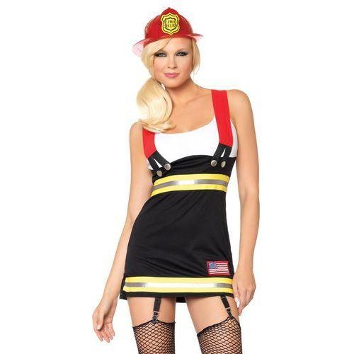 d7cf17819439cb Kostiumy erotyczne · Przebranie Pani Strażak Backdraft Babe, Kolor: Czarno- czerwony, Rozmiar: M,