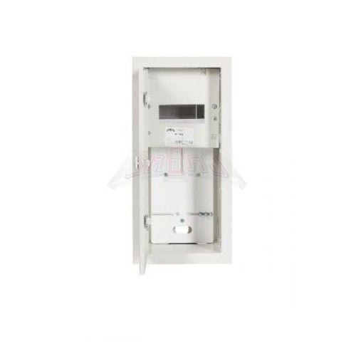 Szafka licznikowa podtynkowa 1-licznikowa 1-fazowy elektroniczny 6 modułów IP31 180x430x120 Biała na zatrzask RL 1F 6E