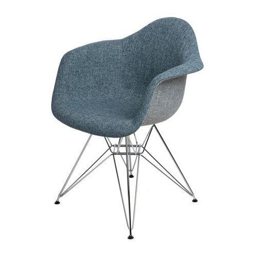 Krzesło P018 DAR Duo niebiesko - szare MODERN HOUSE bogata chata, 80462