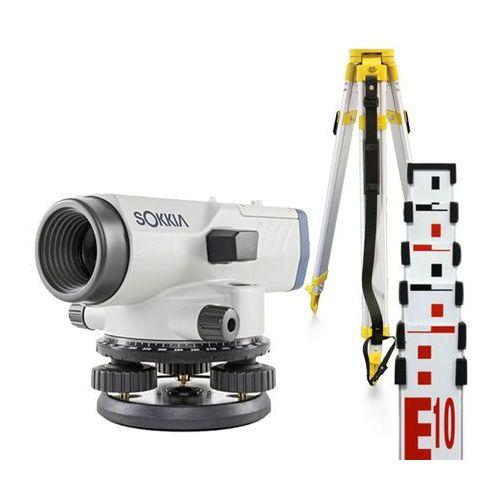 Niwelator optyczny Sokkia B40A + statyw + łata 5m z kategorii Niwelatory