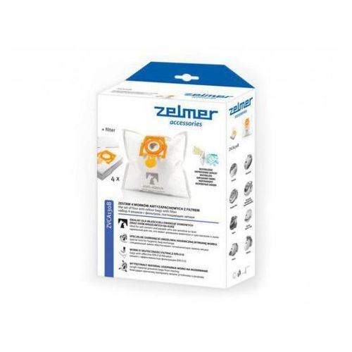 Zelmer zvca130b 4 worki + 1filtr antyzapachowe >> promocje - neoraty - szybka wysyłka - darmowy transport od 99 zł!